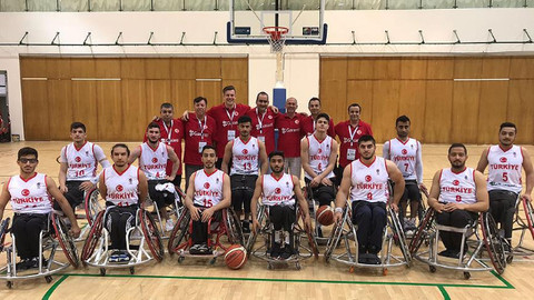 Tekerlekli Sandalye Basketbol Şampiyonası'nda Türkiye şampiyon oldu