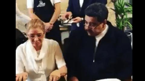 Maduro Nusret'te yemek yedi Venezuela ayaklandı!