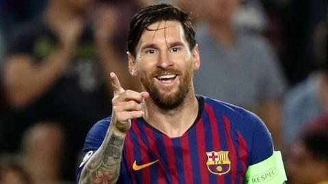 Messi hattrick yaptı Barcelona farka koştu