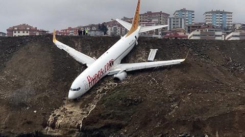 Pistten çıkan uçağın akıbeti belli oldu