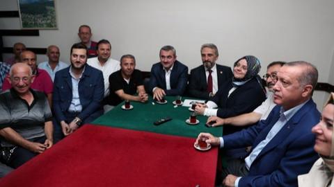 Cumhurbaşkanı Erdoğan TEKNOFEST'ten sonra Kasımpaşa'ya geçti
