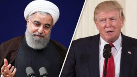 ABD Başkanı Trump'tan Ruhani çıkışı