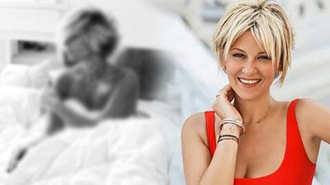 Ayşe Arman yatakta çıplak pozunu paylaştı