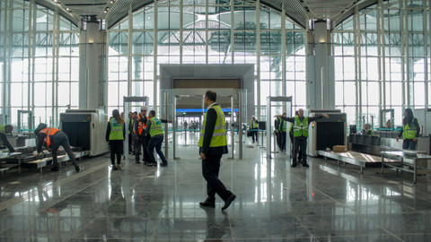 İstanbul Yeni Havalimanı'nda ORAT başladı