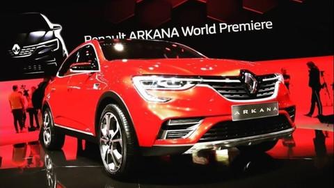 Renault yeni modelini tanıttı! Renault Arkana özellikleri