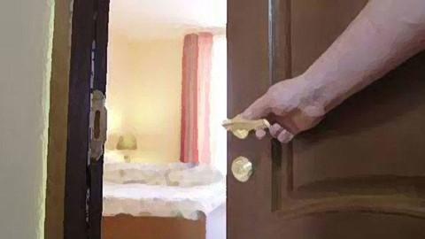 Lüks oteldeki sapık yakalandı!
