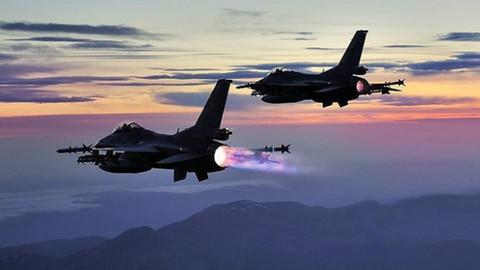Kuzey Irak'a hava harekatı: 10 terörist etkisiz hale getirildi
