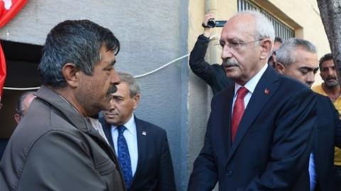 Şehit yakınından Kılıçdaroğlu'na protesto