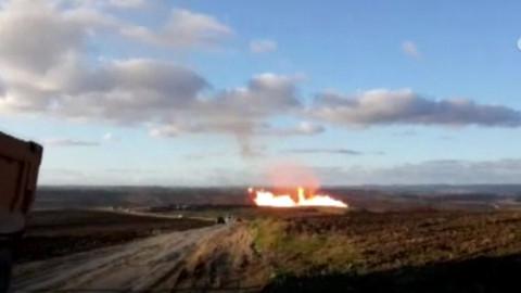 Silivri'de doğal gaz boru hattında patlama! İBB'den açıklama geldi...