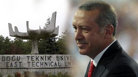 Erdoğan'dan pankart açan ODTÜ'lülere davet