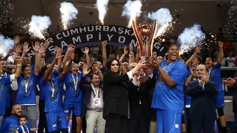 Basketbolda 26. Kadınlar Cumhurbaşkanlığı Kupası'nı Hatay Büyükşehir Belediyespor kazandı