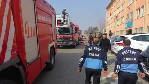 İstanbul'da bir okulda yangın çıktı! Öğrenciler tahliye ediliyor
