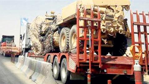 ABD terör örgütlerine 500 TIR malzeme gönderdi