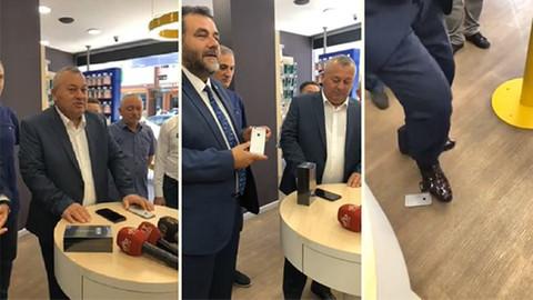 iPhone'unu satan MHP'li telefonunu geri istedi