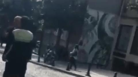 Altaylı polis memurları ile tartıştığı video hakkında konuştu