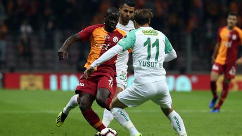 Galatasaray evinde 2 puan bıraktı