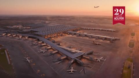 İstanbul 3. havalimanın yeni reklam filmi
