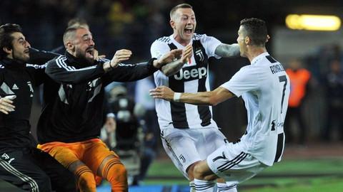 Ronaldo attı Juventus kazandı