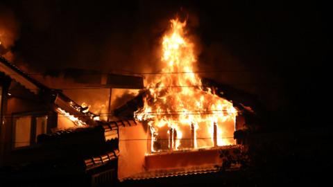 Muğla'da 3 katlı otelde yangın çıktı