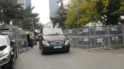 İstanbul haberleri… Suudi Arabistan konsolosluğu önünde hareketlilik