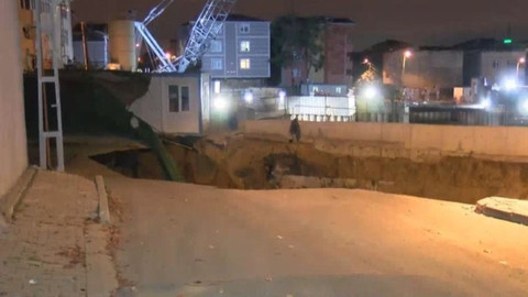 Ümraniye'de çöken yol hakkında İBB Başkanı Uysal'dan açıklama