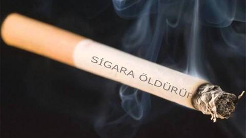 Her bir sigaranın üzerinde uyarı!