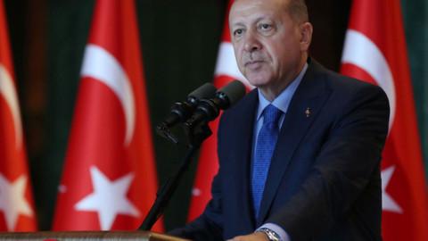 Cumhurbaşkanı Erdoğan: Ebediyete irtihalinin 79. Yıl dönümünde saygıyla yad ediyorum.