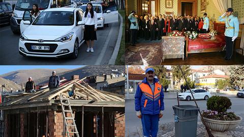 İşte Türkiye'den 10 Kasım görüntüleri