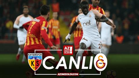 Kayserispor Galatasaray canlı izle - Kayserispor Galatasaray şifresiz izle