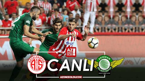 Antalyaspor Akhisarspor canlı izle - Antalyaspor Akhisarspor şifresiz izle