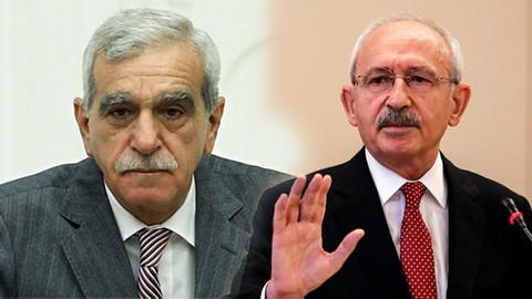 Kılıçdaroğlu ve Ahmet Türk'ün gizli görüşmesi