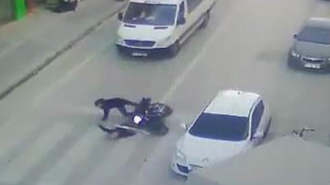 Kullandığı motoruyla yayanın ölümüne neden oldu! Adli kontrol şartıyla serbest bırakıldı