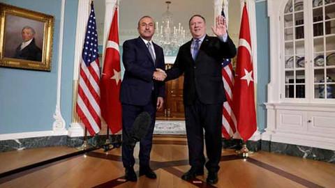 Bakan Çavuşoğlu Pompeo ile görüştü