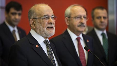 Kılıçdaroğlu ve Karamollaoğlu görüşmesinde ne konuşuldu?