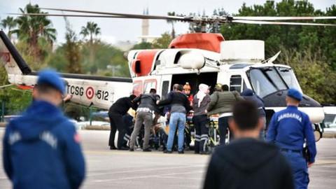 Antalya'da jandarmaya ateş açıldı