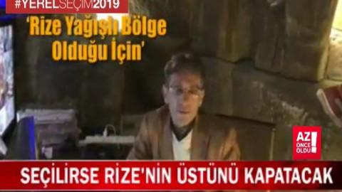 Rize Bağımsız Belediye Başkan Adayı Adnan Aydın: Rize'nin üstünü kapatacağım