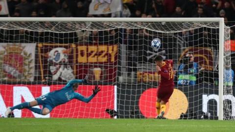 Cengiz Ünder, Roma-Real Madrid maçında gol kaçırdı