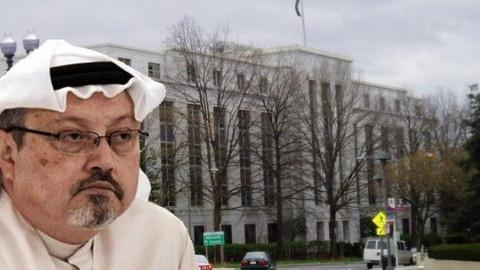 Suudi elçiliğinin sokağına Cemal Kaşıkçı adı veriliyor