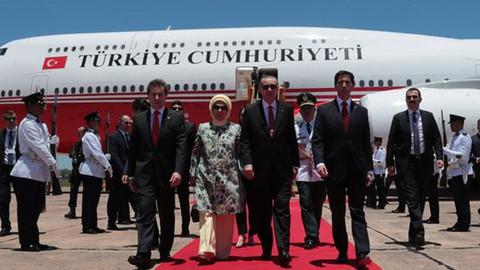 Cumhurbaşkanı Erdoğan Paraguay'da