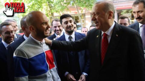 Erdoğan'ı görmek için Şili'den Arjantin'e geldi