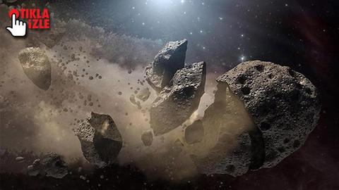 NASA dünyayı tehdit eden asteroidi gösterdi