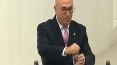 Mahmut Tanal Meclis'te limon sıktı