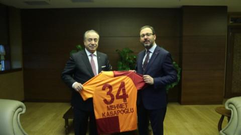 Mustafa Cengiz'den Bakan Kasapoğlu'na ziyaret