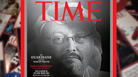 Cemal Kaşıkçı Time dergisi kapağında