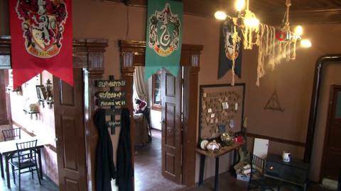 Türkiye'nin ilk Harry Potter konseptli kafesi