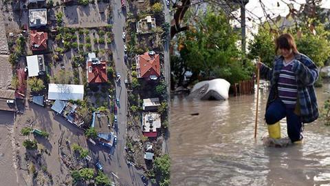 Sel Antalya'yı vurdu! Turistik ilçede hayat durdu