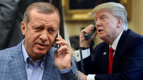 Cumhurbaşkanı Erdoğan ABD Başkanı Trump'la telefonda görüştü