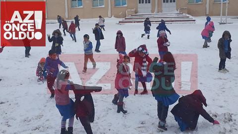 4 Ocak 2019 Cuma günü Elazığ'da okullar tatil mi?