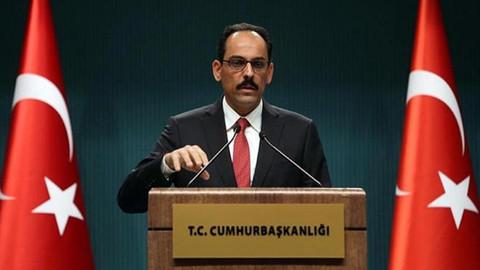 Sözcü Kalın'dan Kürtlerin hedef alındığı iddialarına cevap