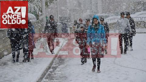 7 Ocak 2019 Pazartesi günü Kars'ta okullar tatil mi?